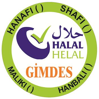 Het logo van GiMDES met daarop de vier wetscholen aangegeven.
