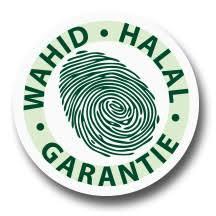 Wahid Halal Garantie.